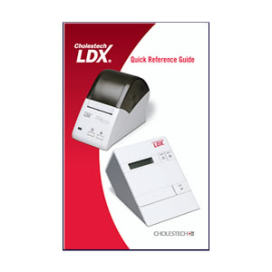 Cholestech LDX Quick Reference Guide