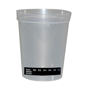 Beaker Cup with Temperature Strip