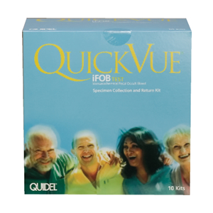 QuickVue Influenza Swab Pack