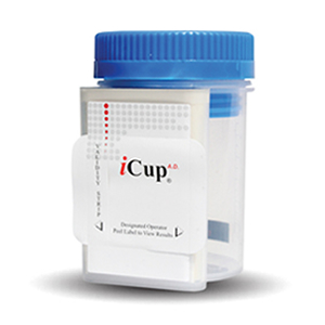 iCup AD - 6 panel (25 count) COC THC OPI AMP300 OXY MDMA (OX SG PH)
