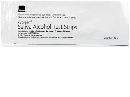 iScreen Saliva Alcohol Test