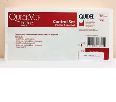 QuickVue In-Line Strep A Control Set