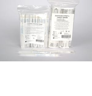 QuickVue In-Line Strep A Swab Pack