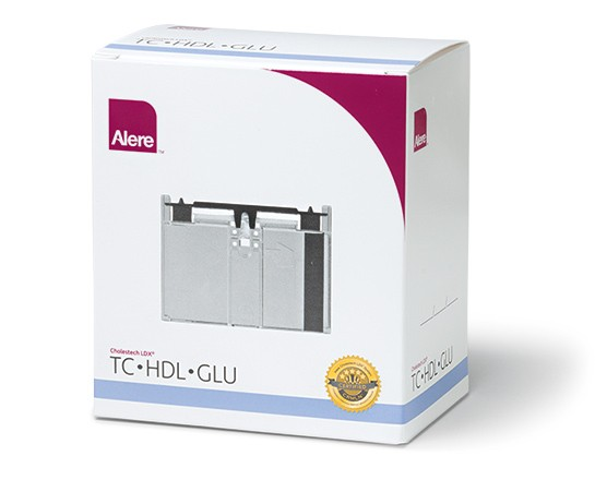 Cholestech - TC +HDL +GLU(Total Cholesterol and HDL Plus Glucose Panel)